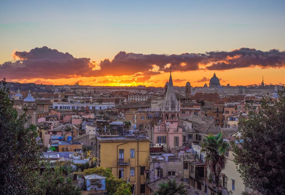 Sono loro le terrazze panoramiche pi belle di Roma