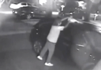 Man with Mullet Style Haircut Sets Car on Fire