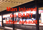 Man Suffers Minor Wound on BART