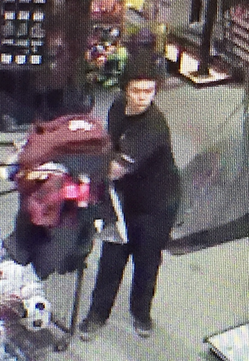 Alleged Shoplifting Suspect From Dick's Sporting Goods