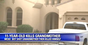 Boy Shoots Grandmother