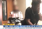 Student Punches Female Teacher