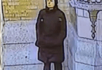 Suspect wanted St. Monica's Church