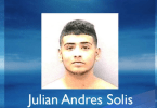 ID #19-150 Julian Andres Solis Wanted