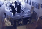 San Rafael Police Release Video of a Jewelry Store Smash and Grab