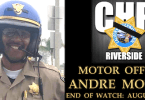 CHP Officer Andre Moye, Jr.