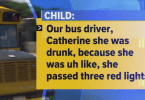 bus driver has been charged with driving under the influence