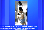 ID #19-243 Female Suspects Wanted for Alleged Violent Robberies