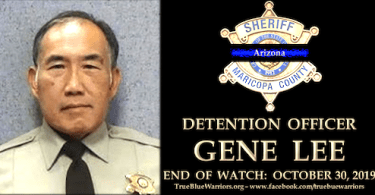 Maricopa County Jail Detention Officer Gene Lee Killed by Inmate