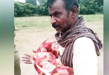Grandfather and Uncle Caught Attempting to Bury Baby Alive