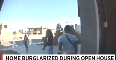 Alleged Burglary During Open House Event