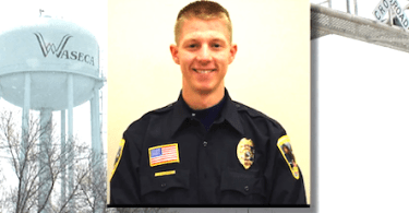 Officer Arik Matson shot in head.