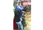 Armed Robbery and Shooting at Restaurant Caught on Camera