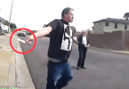 Man with Knife Shot and Killed by Police Caught on Camera