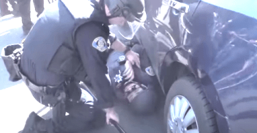 San Jose Police Officer Knocked Unconscious by Rioter