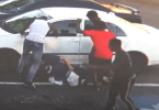 Alleged Brutal Attack on Man Outside Store