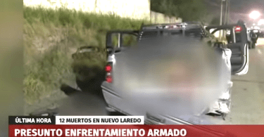 Mexican Army Kills 12 Suspected Gunmen in Shootout
