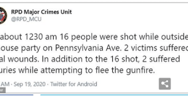 Alert issued by Rochester police on Twitter