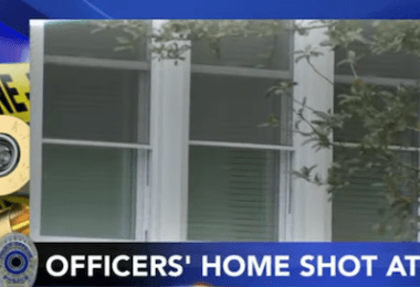 Shooters Open Fire on the Home of 2 New Jersey Police Officers