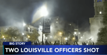 Two Louisville Police Officers Shot, One Suspect in Custody