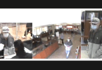 ID #20-409 Police released these surveillance images of the suspect in a bank robbery Monday in Rohnert Park. (Rohnert Park Department of Public Safety)