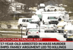 17-Year-Old Arrested for Mass Murder of Family Including Unborn Baby