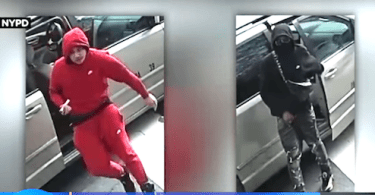 ID #21-175 Alleged robbery suspects