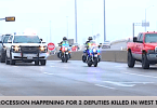 Law Enforcement Held a Procession for 2 Deputies Killed in West Texas