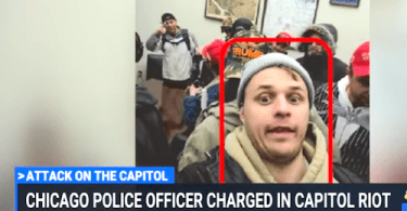 Chicago Police Officer Charged In Alleged Capitol Riot Insurrection