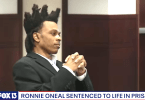 Ronnie Oneal Sentenced to Life in Prison Without Parole for Double Murder