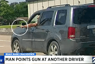 Man Allegedly Points Gun at Another Driver in Road Rage Incident in Texas
