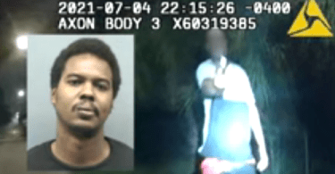 Police Body Camera Shows Moment Suspect Pulls a Gun on Florida Officer