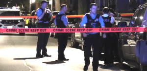 Screen capture from one of the crime scenes