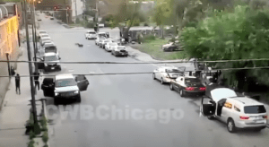 Surveillance Video Shows Chicago Mass Shooting When Baby Was Shot in Head