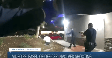 SDPD Releases Video of Officer-Involved Shooting Caught on Camera