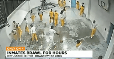 Surveillance Video Shows Inmates Allegedly Beating Other Inmates