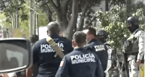 240 Rosarito Beach Police Officers Disarmed by Army and Guardia Nacional