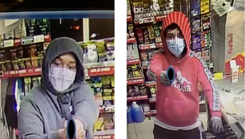ID #21-424 Robbery suspects Credit Denver Police Department