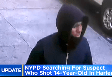 ID #21-465 Alleged shooting suspect. Credit NYPD Crimestoppers