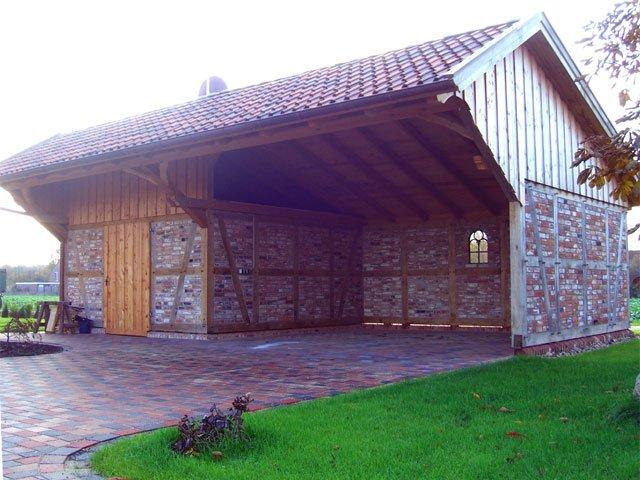 Nebengebude  Fuhrberger Fachwerkhaus
