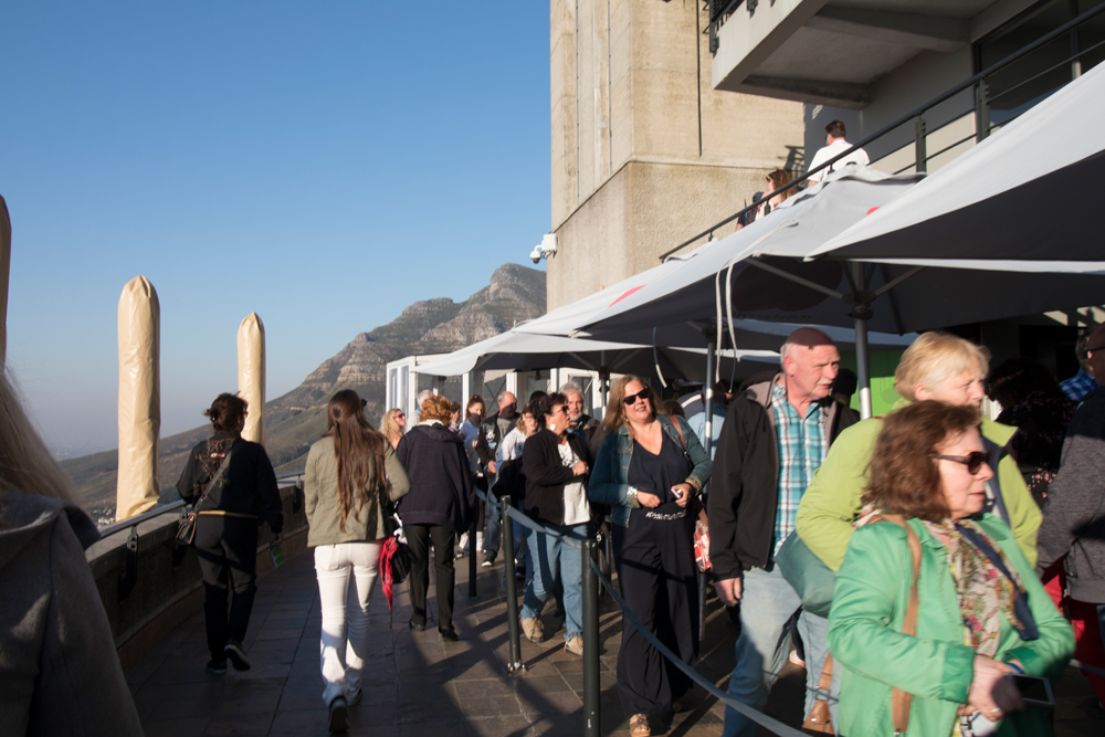 Fila do Bondinho da Table Mountain