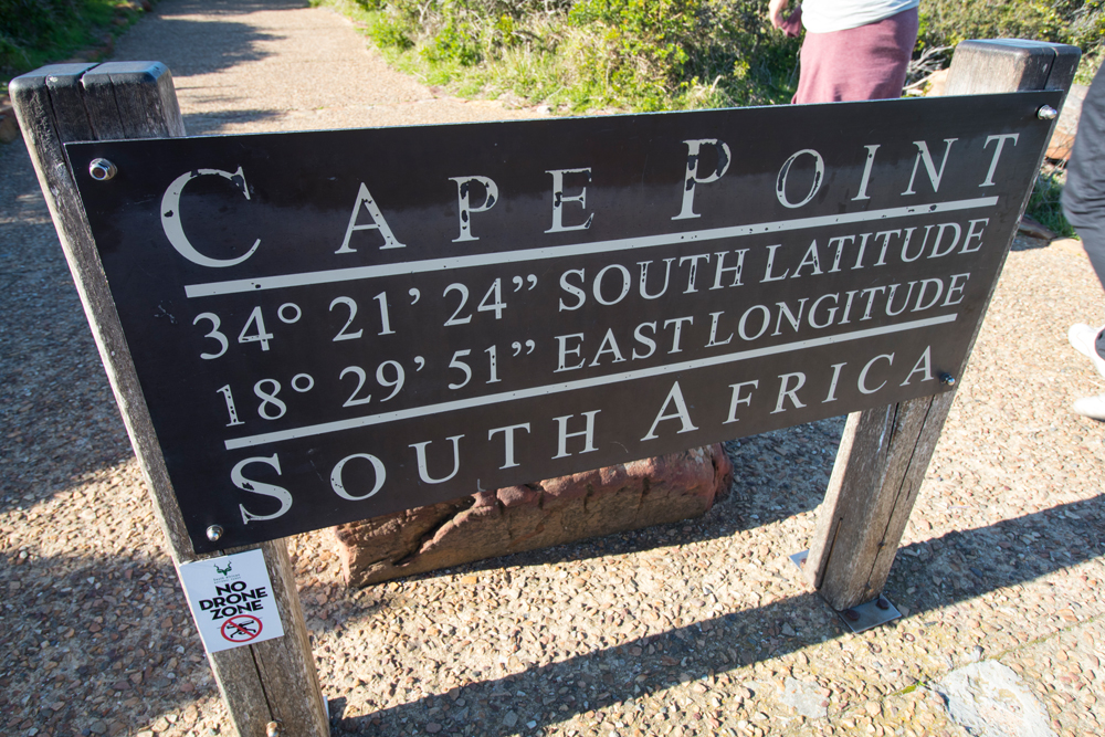 Placa de Cape Point
