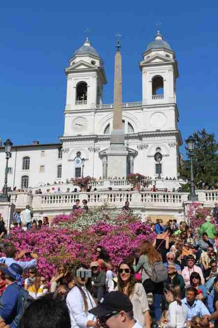 igrejas romanas - trinità dei monti