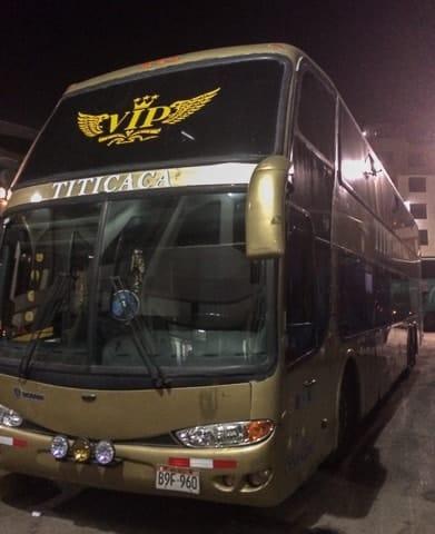 Como ir de ônibus de Cusco a Copacabana