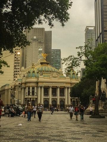 Visita guiada ao Theatro Municipal do Rio de Janeiro