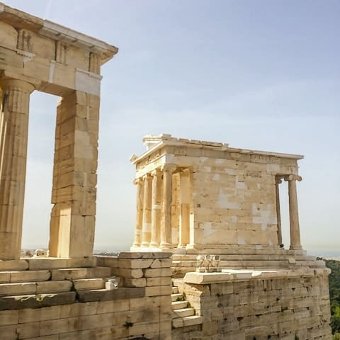 Templo de Atenas Nikè - conhecendo a incrível Acrópole de Atenas, Grécia