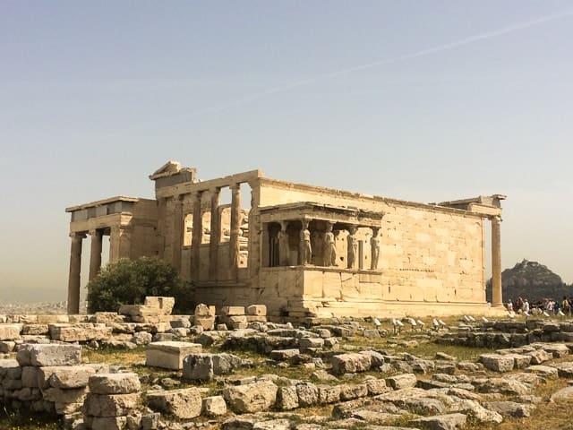 Erecteu - conhecendo a incrível Acrópole de Atenas, Grécia