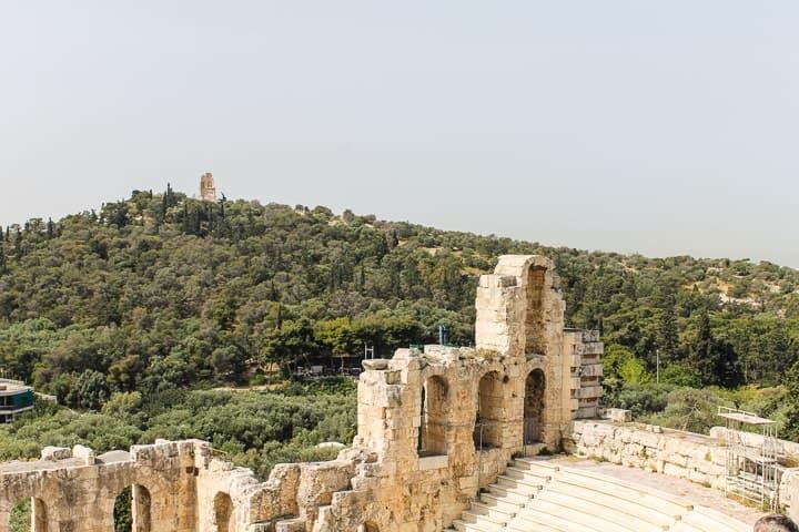 Odeão de Herodes Ático - Acrópole de Atenas