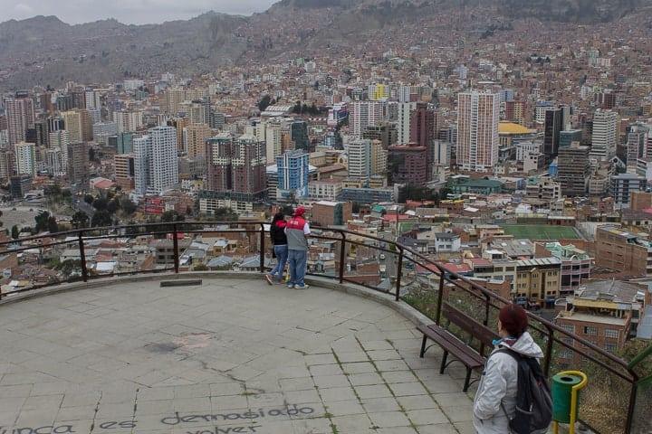 Mirador Killi-Killi - O que fazer em La Paz em um roteiro de 2 dias