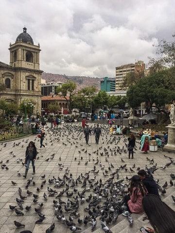 Plaza Murilo - O que fazer em La Paz em um roteiro de 2 dias